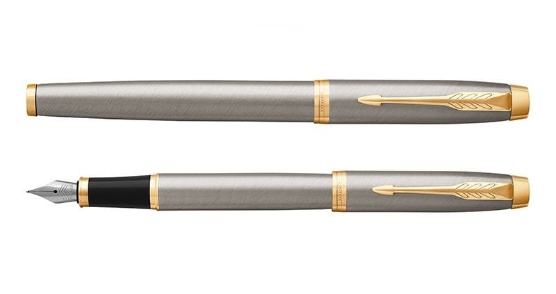 Parker Im Brushed Metal GT Vulpen