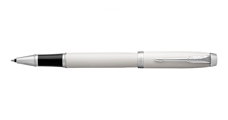 Parker Im White Lacquer CT Roller