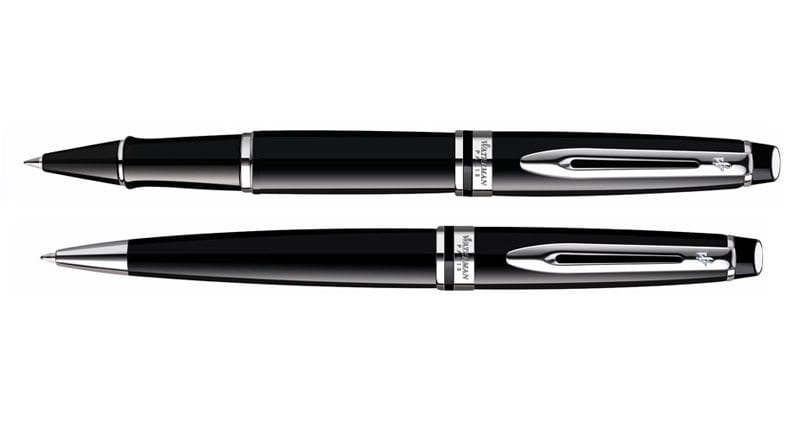 Waterman Expert III Black CT Roller Balpen