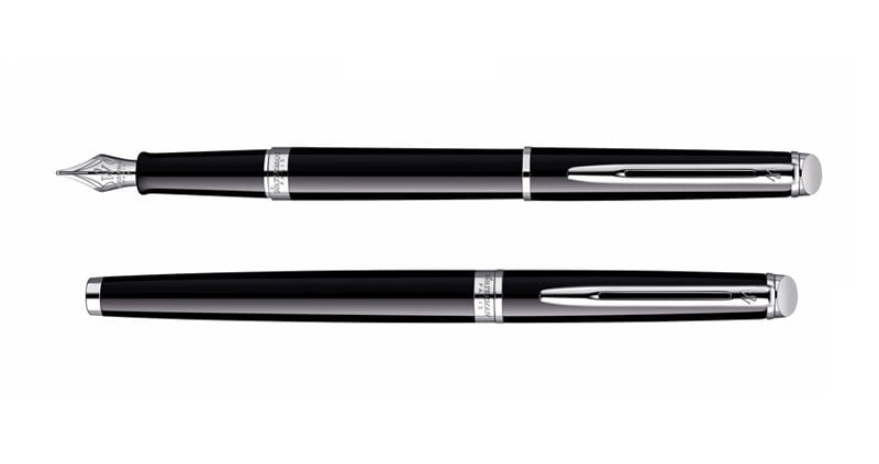 Waterman Hemisphere Black CT Vulpen