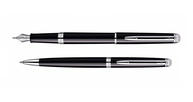 Waterman Hemisphere Black CT Vulpen Balpen