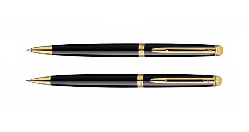 Waterman Hemisphere Black GT Balpen Potlood