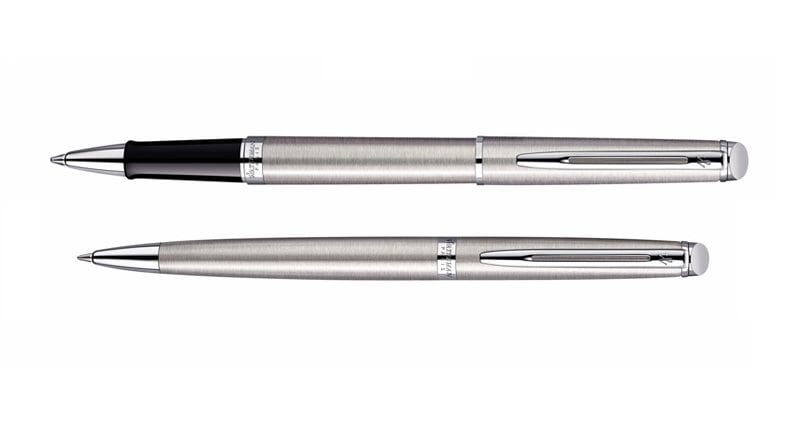 Waterman Hemisphere Steel CT Roller Balpen
