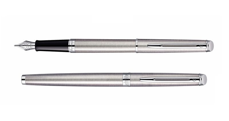 Waterman Hemisphere Steel CT Vulpen