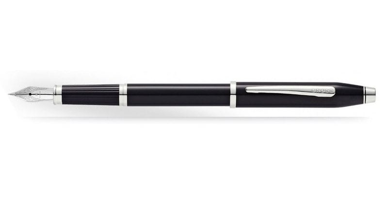 Cross Century II Laque Black CT Vulpen